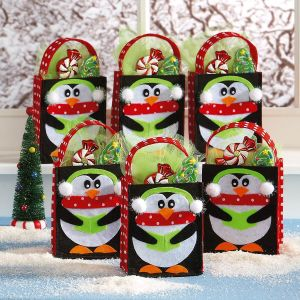 Penguin Felt Treat Bags