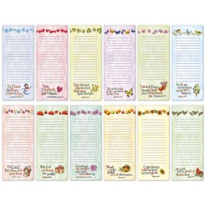 Seasonal Faith Magnet Memo Pads