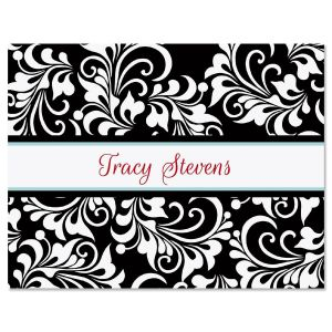 Opulent Personalized Note Cards