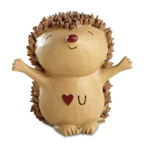 Love U Hedgehog Figurine