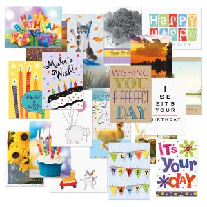 Mega Birthday Value Pack - Set of 40