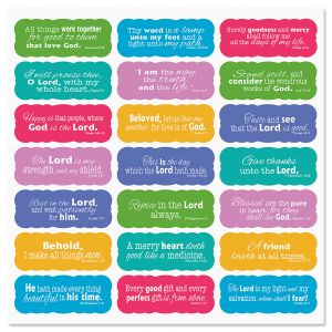 Scripture Stickers - Buy 1 Get 1 Free