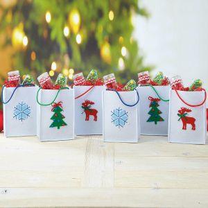 Christmas Icon Felt Bags