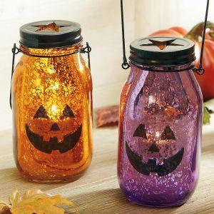 Mercury Glass Tealight Holders