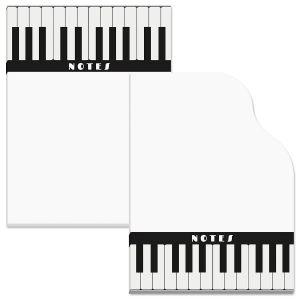 Piano Keys Sticky Notes