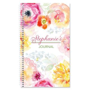 Pretty Posy Personalized Journal