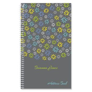 Flower Sky Personalized Lifetime Address Book