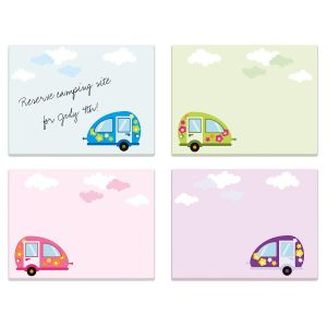 Happy Camper Sticky Notes