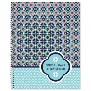 Mosaic Greeting Card Organizer Book