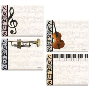 Music Sticky Note Pads
