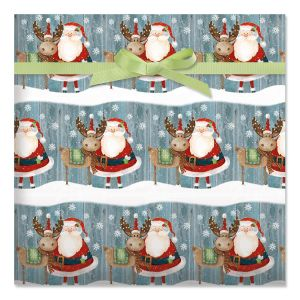Christmas Chums Holiday Jumbo Rolled Gift Wrap