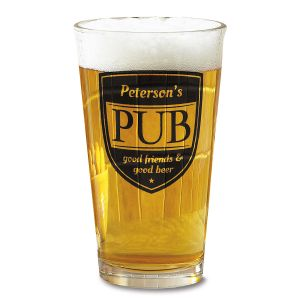 Pub Personalized Pint Glass