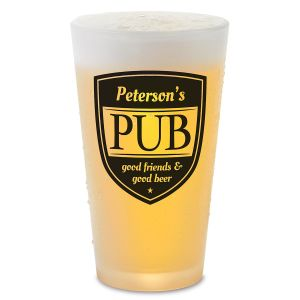 Custom Pub Pint Beer Glass
