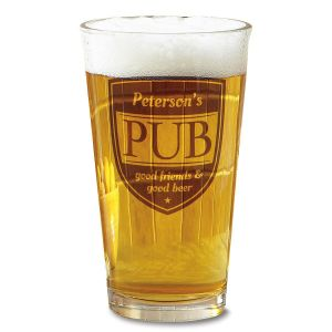 Pub Pint Glass