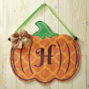 Pumpkin Door Personalized Decoration