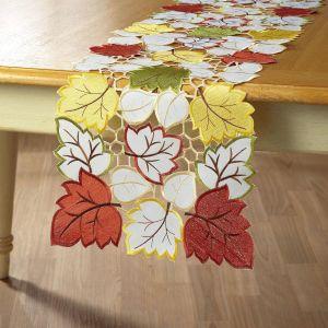 Autumn Leaf Table Runner