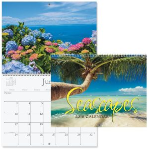 2018 Seascapes Wall Calendar
