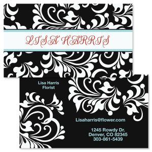 Opulent Double-Sided Business Cards