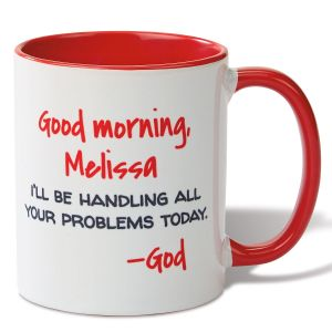 Good Morning Novelty Mug