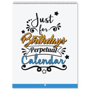 Just For Birthdays Perpetual Calendar