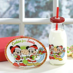 Mickey and Minnie Cookies for Santa