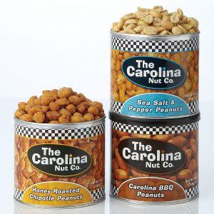 Flavored Roasted Peanuts - Set of 3 flavors