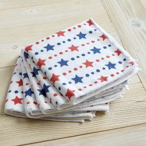 Patriotic Microfiber Cloths