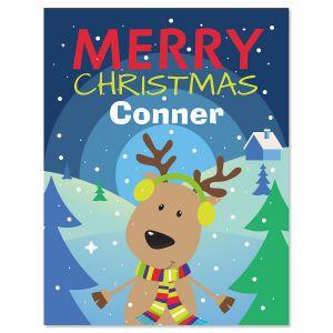 Custom Merry Christmas Color & Activity Book