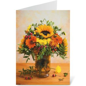 Fall Bouquet Note Cards - Buy 1 Get 1 Free