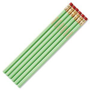 Pastel Green #2 Hardwood Custom Pencils
