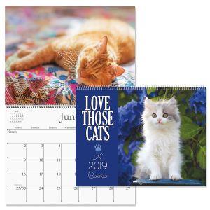 2019 Love Those Cats Wall Calendar