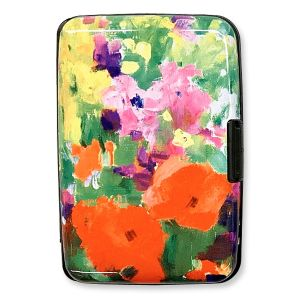 Beautiful Flowers RFID Wallet