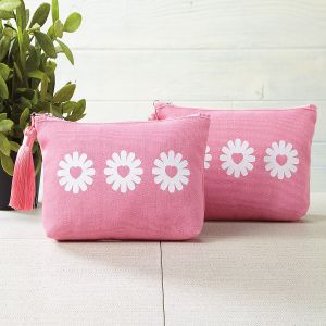 Canvas Cosmetic Bag - Buy 1 Get 1 Free