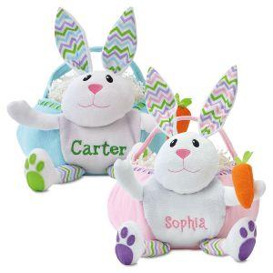 Custom Bunny Easter Baskets