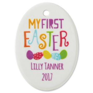 Custom Baby's First Easter Ornament