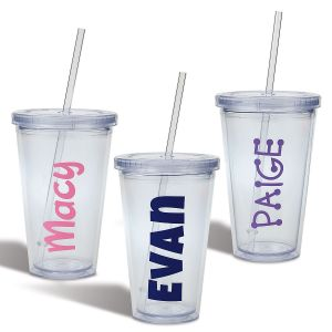 Custom Acrylic Beverage Cups