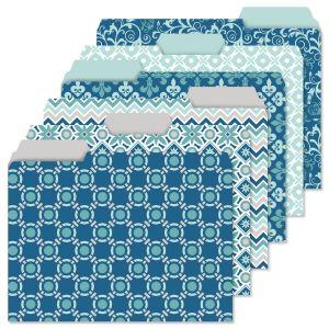 Coastal Blue Folders Value Pack