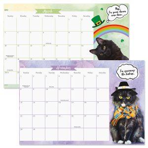 2019-2020 CATtitude Calendar Pad