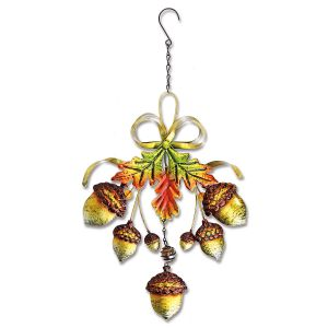 Metal Acorn Decoration