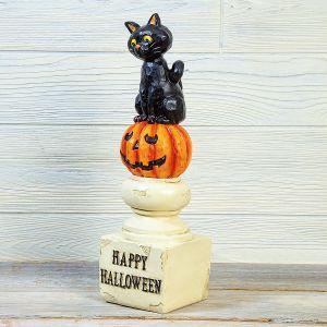 Halloween Cat Pedestal
