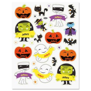 Custom Halloween Stickers