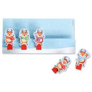 Reindeer Magnetic Clips - Buy 1, Get 1 Free