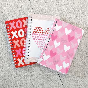 Mini Valentine's Notebooks - Buy 1 Get 1 Free