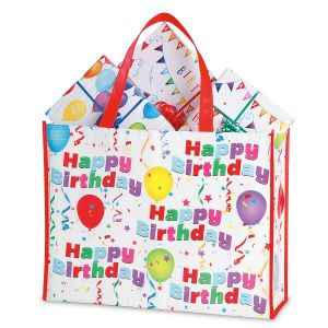 Birthday Shopping Tote - Buy 1 Get 1 Free