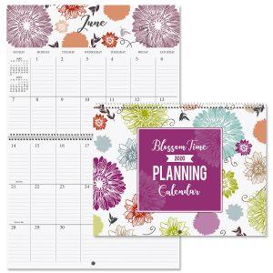 2020 Blossom Time Big Grid Planning Calendar