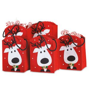 Felt Treat Bags Reindeer