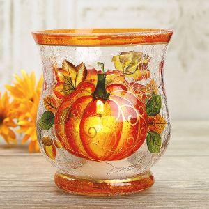 Pumpkin Votive Holder