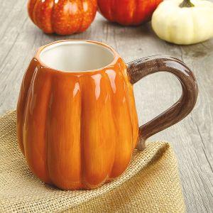 Ceramic Pumpkin Mug