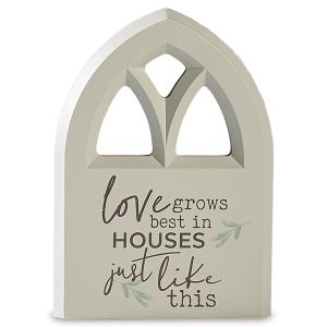 Inspirational Plaque Love Grows