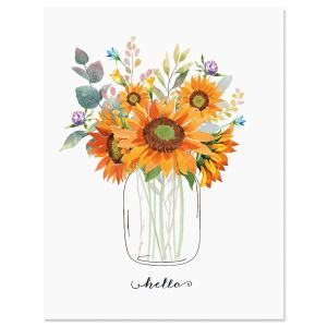 Sunflower Note Cards - Buy 1 Get 1 Free